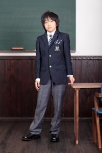 卒業式男の子2
