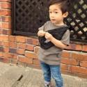 2019年3歳男の子の秋コーデ、カッコイイ子供服を紹介!