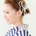 着物が似合うボブの髪型特集!初詣に編み込みなど簡単に自分でアレンジ!