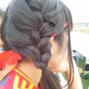 ☆体育祭の髪型・高校生特集!ロングを簡単に可愛くアレンジ!
