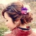 2017年初詣!ロングヘアーで着物に似合う髪型の簡単なアレンジを紹介!編み込みや簪はいかが?